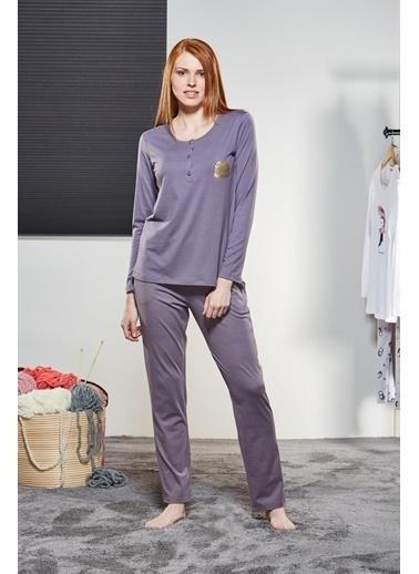 Pjs Pijama Takım Lila